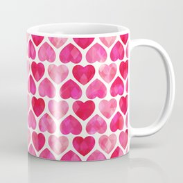 RUBY HEARTS Coffee Mug