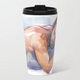 MATT, Semi-Nude Male by Frank-Joseph Travel Mug