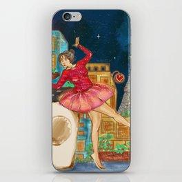 fallin in loved in paris iPhone Skin