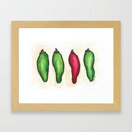 """""""Peppers"""" Framed Art Print"""