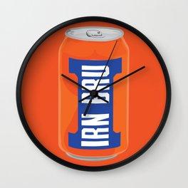 Irn Bru Wall Clock