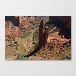Amazing Spider Rock Canvas Print
