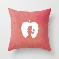Snow White and the Seven Dwarfs Throw Pillow
