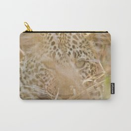 Leopard in the Grass Carry-All Pouch