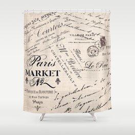 Paris Market 2 Shower Curtain