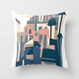 Valencia, plaza del ayuntamiento Throw Pillow