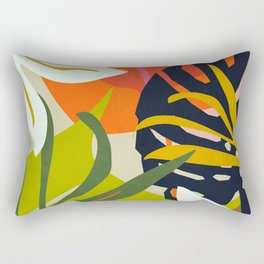 Jungle Abstract 2 Rectangular Pillow