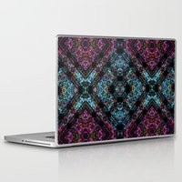 wallpaper Laptop & iPad Skins featuring wallpaper by cinefuck