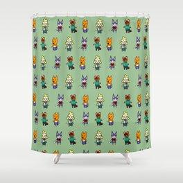 Animal Crossing Design 5 Shower Curtain