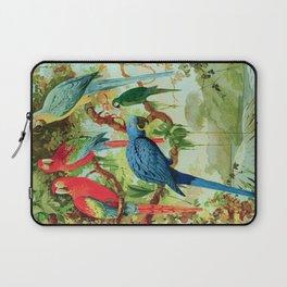 Amazonian Birds August Belem Brazil Colorful Tropical Birds Scientific Illustration Parrots Laptop Sleeve