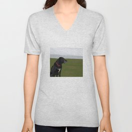 Gracie Unisex V-Neck