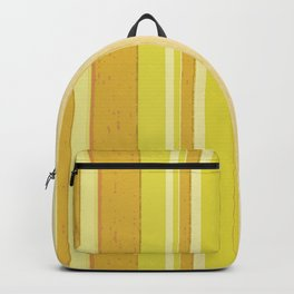Stripes in Yellow Backpack