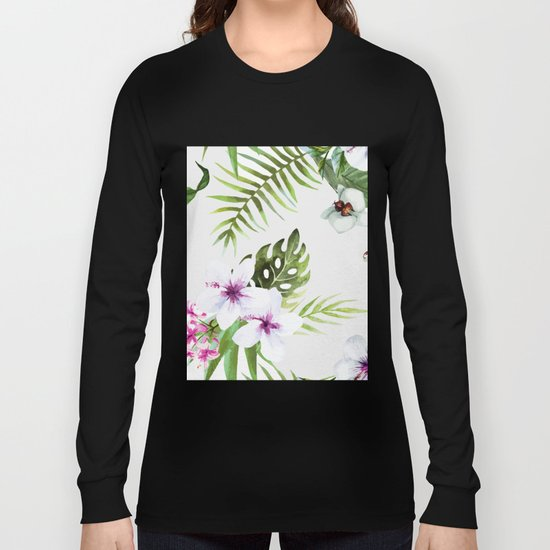Tropical Serenity #society6 Long Sleeve T-shirt