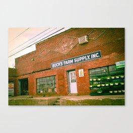 Farm Supply Canvas Print
