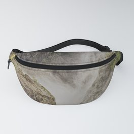 Beautiful waterfall in the rainforest Fanny Pack