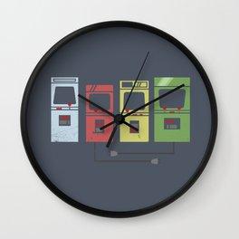 Arcade Machines Wall Clock