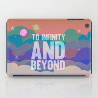 buzz lightyear iPad Cases featuring to infinity and beyond.. toy story.. buzz lightyear by studiomarshallarts