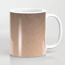Gold, orange, and black ombre flames Coffee Mug