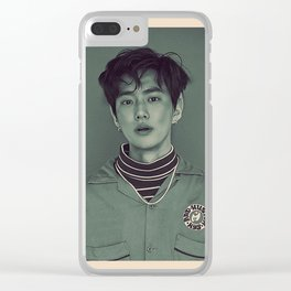Elf Suho Clear iPhone Case