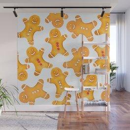 Gingerbread Man Wall Mural