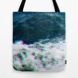 Oceanic Glitches - Ship Splash Tote Bag
