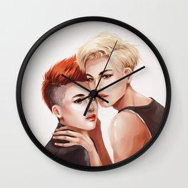 Close Wall Clock