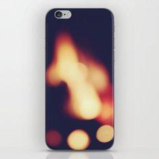 FIRE BLUR 2 iPhone & iPod Skin
