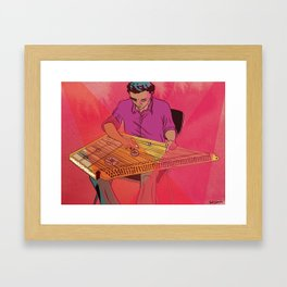 Kanun Player Framed Art Print