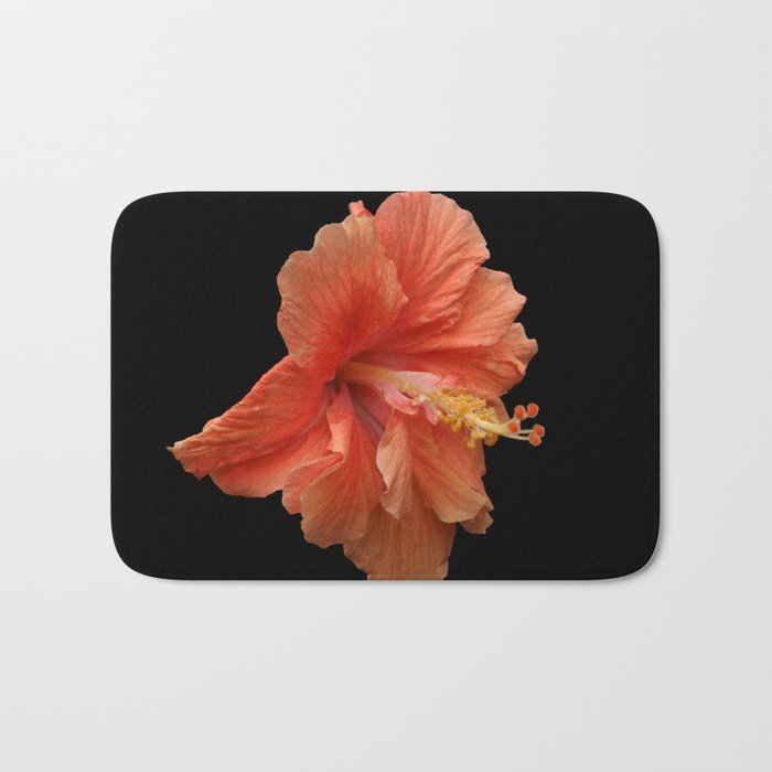 Double Orange Hibiscus DPG160419 Bath Mat