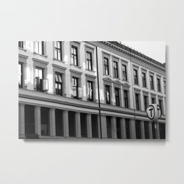 Frontage face of a building Metal Print