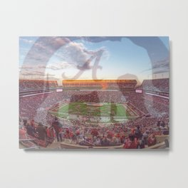 Roll Tide Metal Print