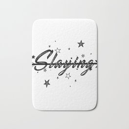 Slaying Bath Mat