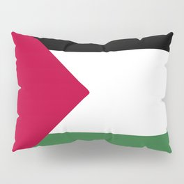 Palestine flag emblem Pillow Sham