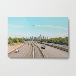 Landscape Blue Angels over Dallas Metal Print