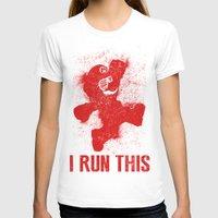 boss T-shirts featuring Mario Boss by Head Glitch