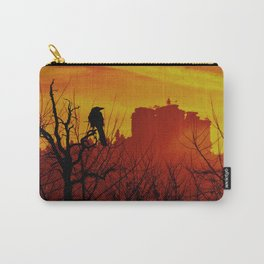 Rock and raven at dawn Carry-All Pouch