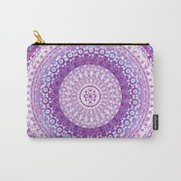 Orchid Tapestry Mandala Carry-All Pouch