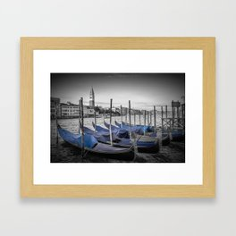 VENICE Grand Canal and St Mark's Campanile Framed Art Print