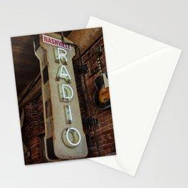 Nashville Radio Stationery Cards