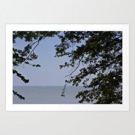 Sailing Frame Art Print