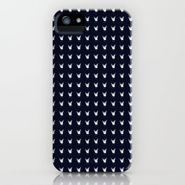 hang 10 navy blue iPhone Case