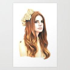 LDR Art Print