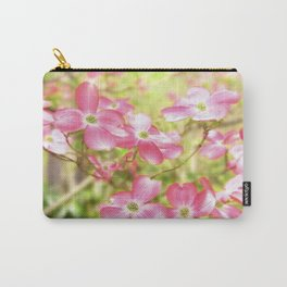 Pink Dogwood Flowering Tree In Spring Time Carry-All Pouch