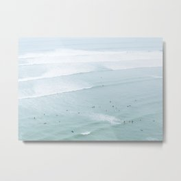 Tiny Surfers from the Sky 5, Lima, Peru Metal Print