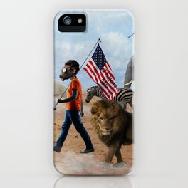 Wrong Way Out iPhone Case