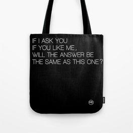 Just ask Tote Bag