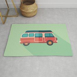 Retro Minivan Rug