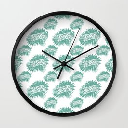 Happy Easter Theme Graphic Wall Clock