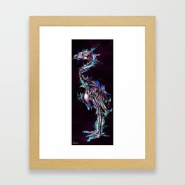Fade Fader Fadest Framed Art Print