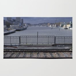 La Seine, Pont National Rug